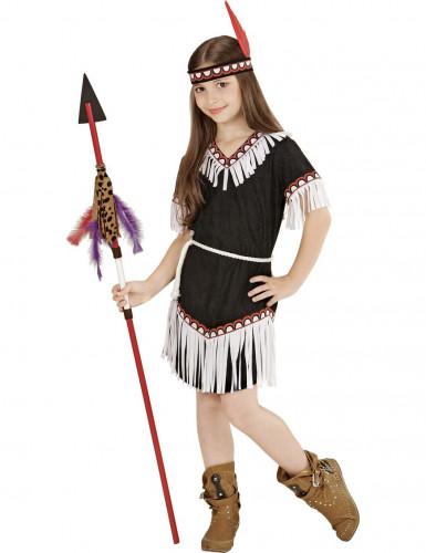 Costume indianina d'America bambina-1