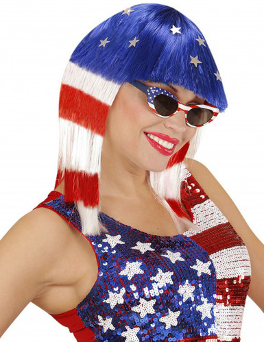Parrucca Miss America donna
