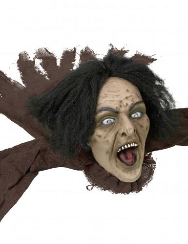 Decorazione di Halloween: strega all'attacco-1