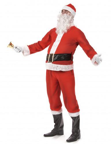 Costume completo da Babbo Natale per Adulto-1