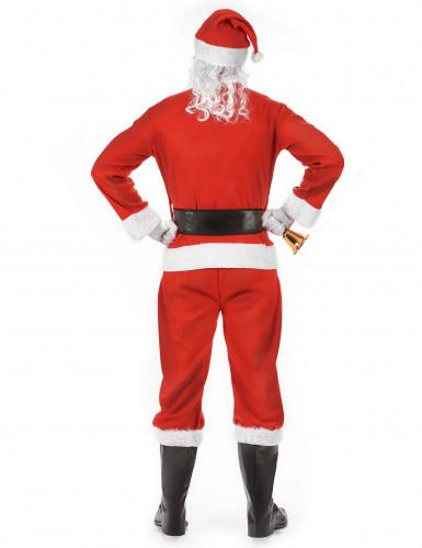 Costume completo da Babbo Natale per Adulto-2