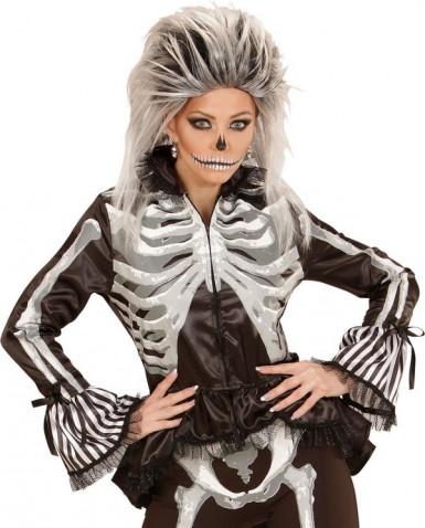 Camicia scheletro donna Halloween