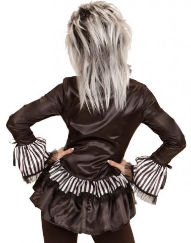 Camicia scheletro donna Halloween-1