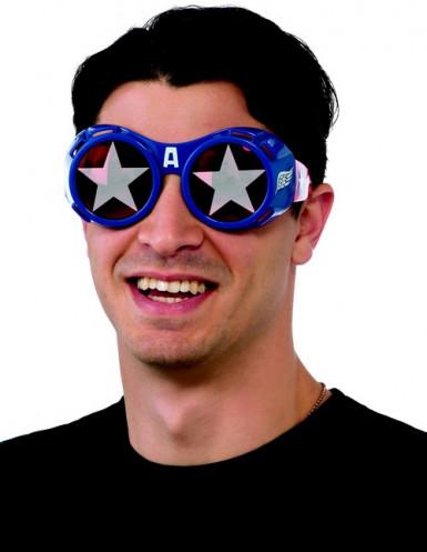 Occhiali Capitan America™ adulto
