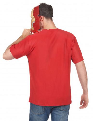 T-shirt e maschera per adulto Iron Man™-1