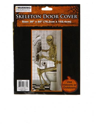 Decorazione Di Halloween Poster Con Scheletro