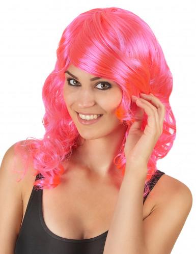 Parrucca media lunghezza glamour ondulata donna