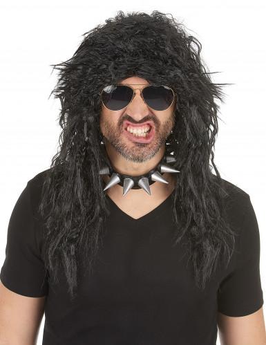 Parrucca hard rocker uomo