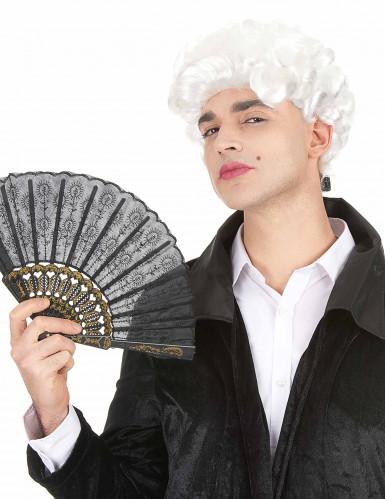 Parrucca da marchese bianca per adulto