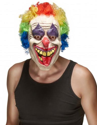 Maschera lattice clown terrificante