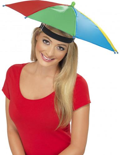Cappelo ombrello multicolore adulto