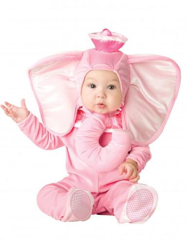 Costume Elefante rosa bambino - Classico