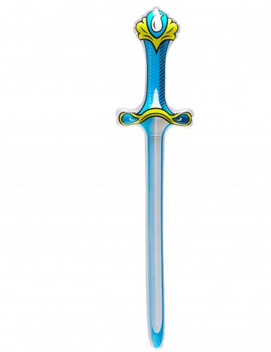Spada da cavaliere gonfiabile blu
