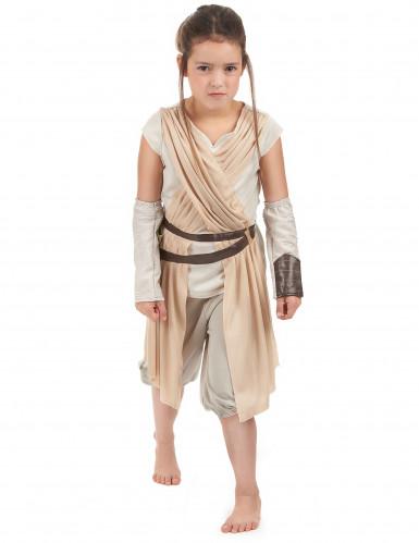 Costume lusso Rey Star Wars VII™ bambina