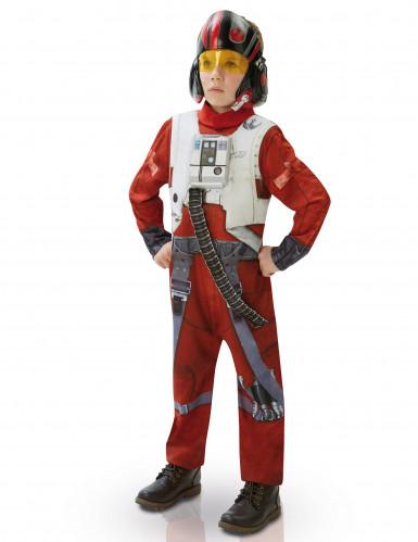 Costume deluxe Poe pilota di  X-wing -Star wars VII™ per bambino