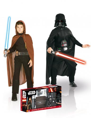 Cofanetto costumi Jedi + Dart fener - Star Wars™ per bambino