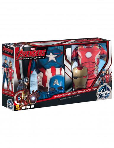 Costume Iron Man™ e Captain America™ per bambino-2