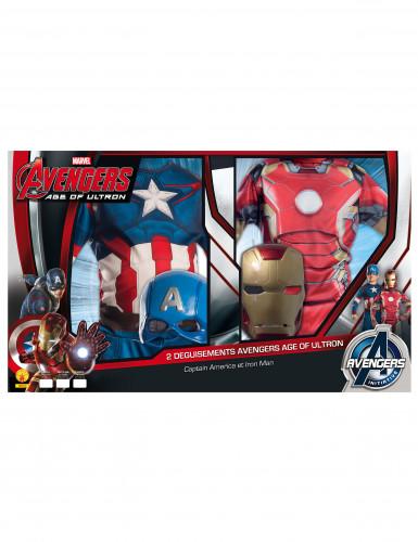 Costume Iron Man™ e Captain America™ per bambino-1