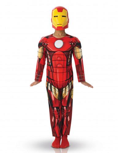 Costume deluxe da Iron Man™ con imbottitura per bambino