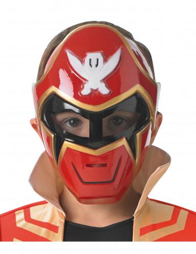 Maschera Power Rangers™ Super Mega Force rosso bambino