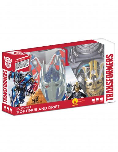 Cofanetto costumi Optimus prime e Drift™ - Tranformers™ bambino-1
