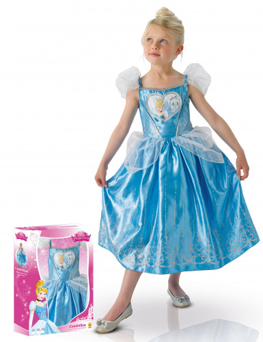 Costume deluxe Cenerentola™ per bambina con cofanetto