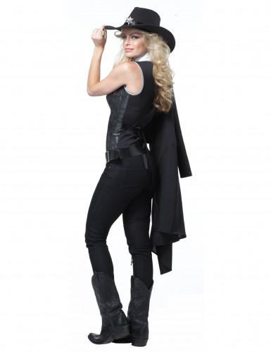 Costume Sceriffo per donna -1