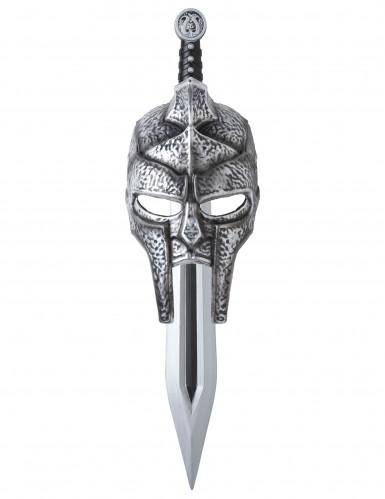Maschera e spada da gladiatore per adulto