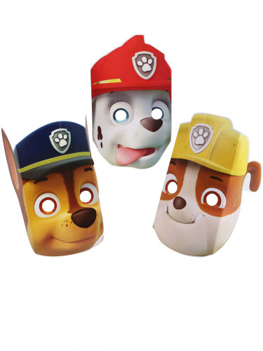8 maschere di carta Paw patrol™