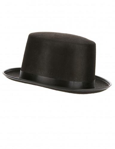 Cappello cilindro nero adulto