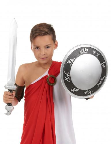 Kit gladiatore spada e scudo bambino-1