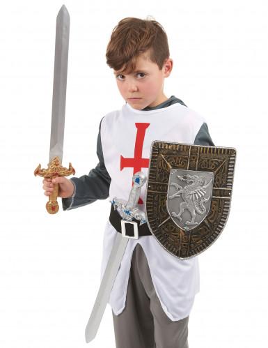 Kit scudo e 2 spade gladiatore bambino-1
