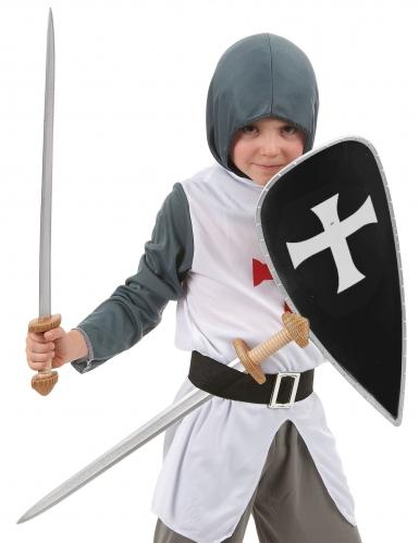 Kit scudo e spade cavaliere crociato-1