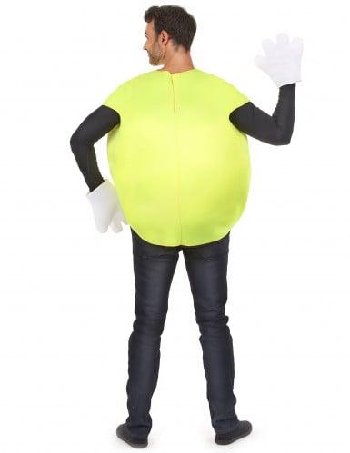 Costume Caramella gialla per adulto-2