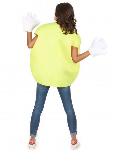 Costume Caramella gialla per adulto-5