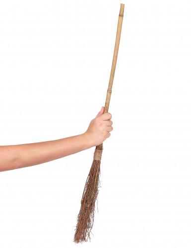 Scopa da strega in bamboo - 88 cm-1