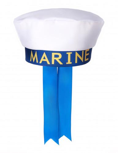 Cappello marinaio con scritta per adulto-1