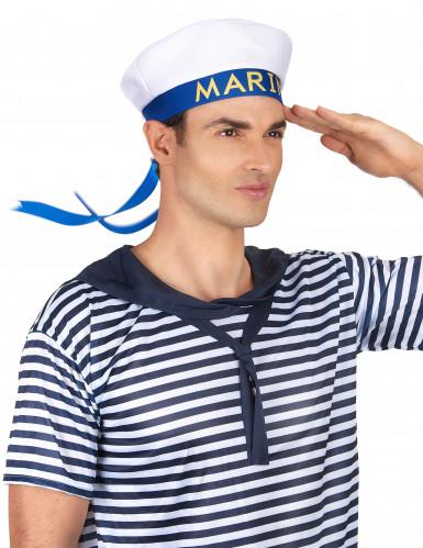 Cappello marinaio con scritta per adulto-2
