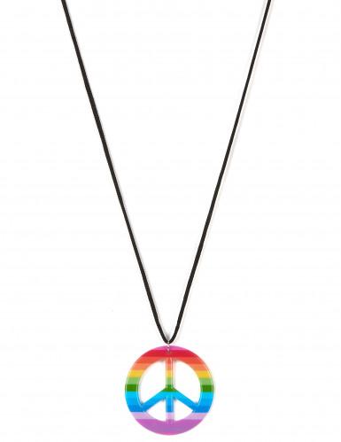 Collana hippie multicolore per adulto