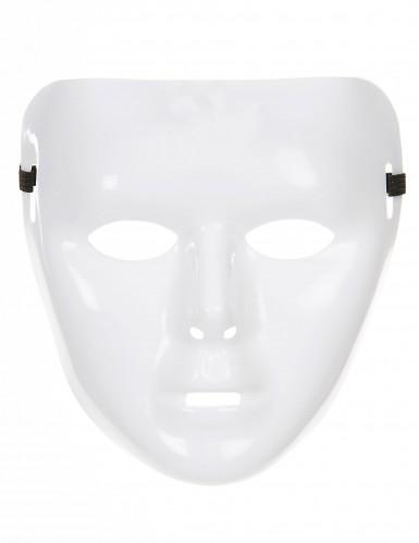 Maschera Bianca Brillante per adulto