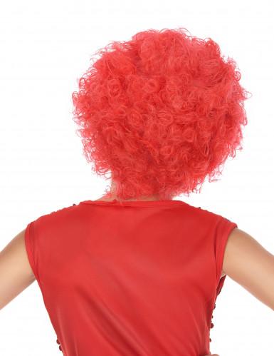Parrucca clown rossa-1