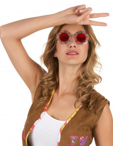Occhiali hippy per adulto-1