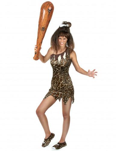 Costume da donna preistorica-1