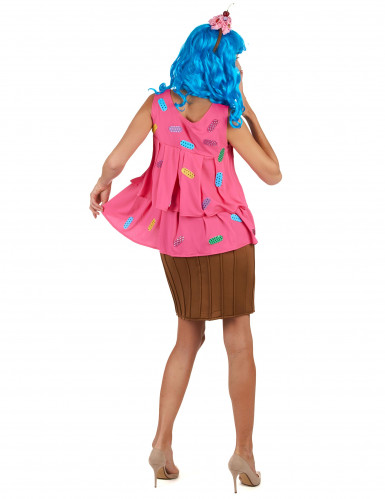 Costume da cupcake pop star per donna-2