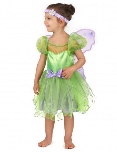 Costume da fatina verde per bambina-1