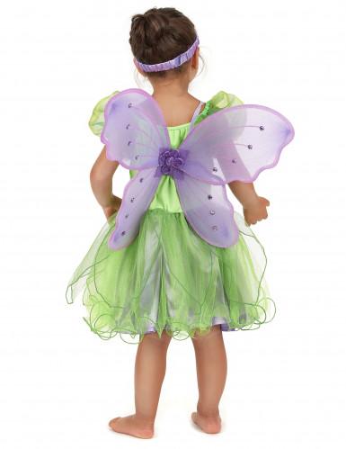 Costume da fatina verde per bambina-2