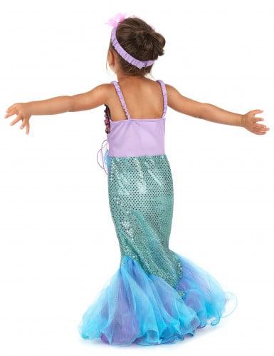 Costume da sirena per bambina-2