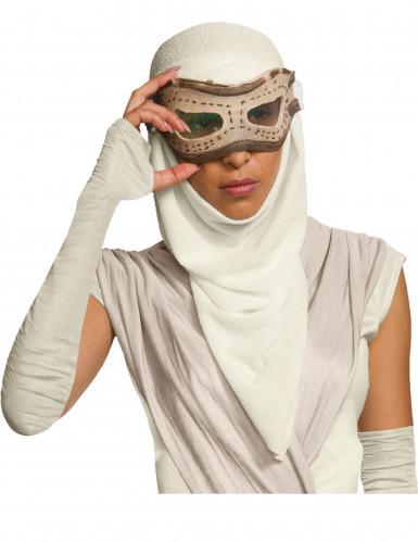 Maschera per adulto con cappuccio Rey - Star Wars™-1