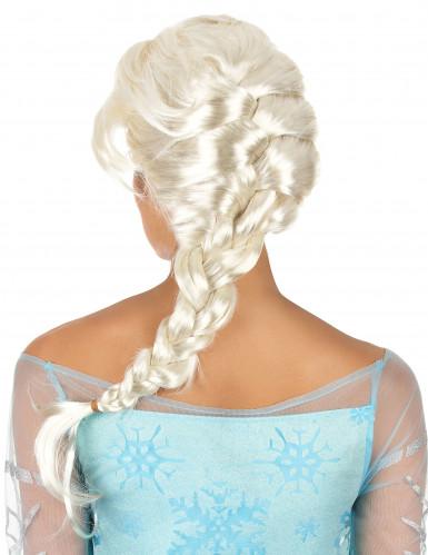 Parrucca lunga treccia donna bionda-1