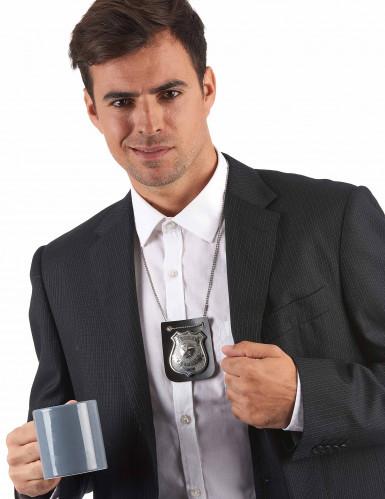 Collana distintivo badge Police adulto-1